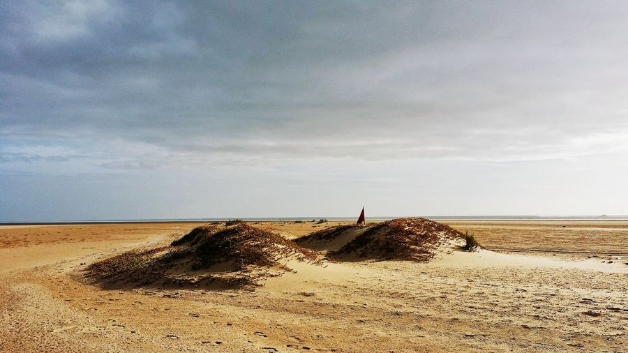 Baie de Dakhla The Great Outdoors - 2018 EyeEm Awards Land Sky Beach Cloud - Sky Nature Sand Scenics - Nature Landscape Tranquil Scene Non-urban Scene Horizon Beauty In Nature Tranquility Environment Outdoors