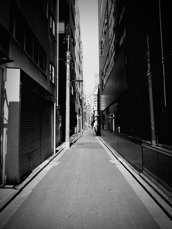 Tokyo Downtown Road Road Sign Roadtrip Architecture Cityscape City No People Architecture City Walking Monochrome Collection Blackandwhite Black And White Collection  Architecture_bw Monochrome Photography Monochromeart Monochrome _ Collection Cityscape Monochrome World Monochrome Nature