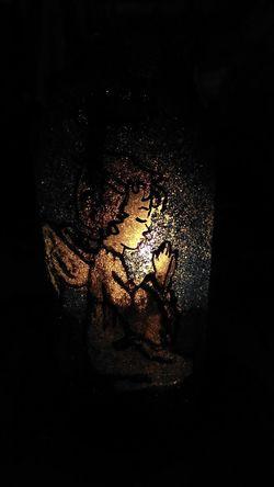 Art Black Background Close-up Illuminated Indoors  Night No People
