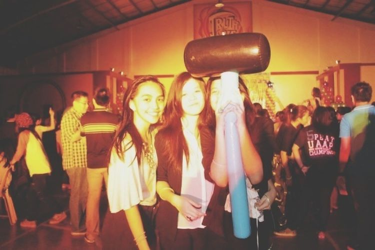 Throwback because this is such a throwback Throwback Hardcore My Girls ♥ Batch Night