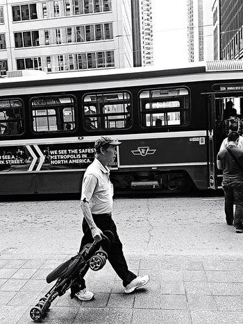 Blackandwhite Walking Around IPhoneography Toronto Streetphotography