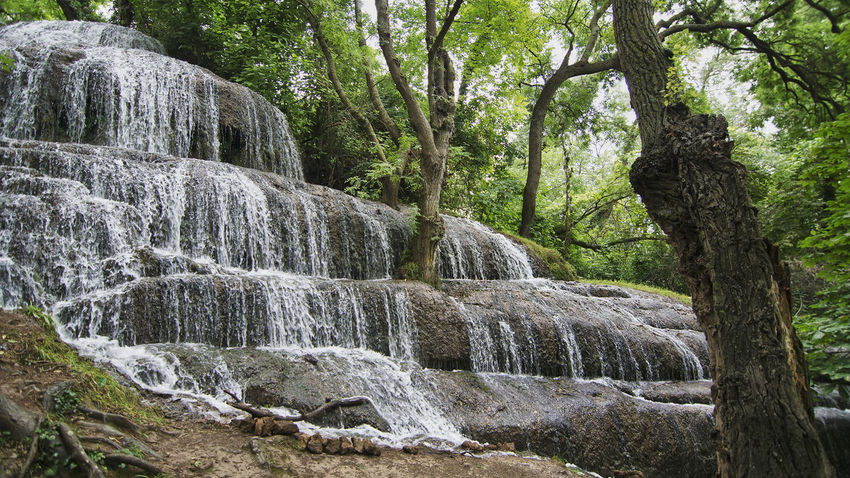Beauty In Nature Flowing Water Long Exposure Monasterio De Piedra Nature Tranquil Scene Tranquility