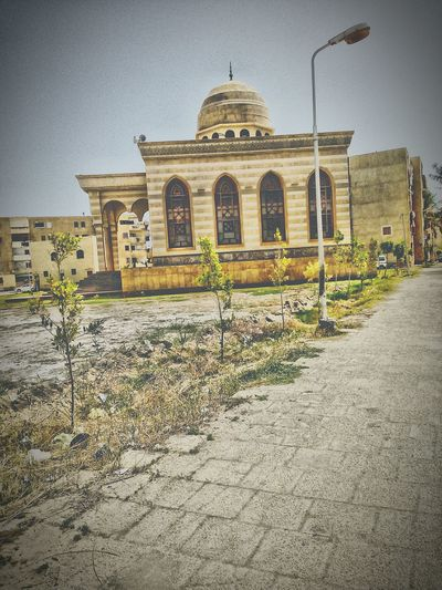 Architecture Built Structure History takne by me with my phone Travel Destinations Building Exterior Dome Day Outdoors No People Sky WeatherPro: Your Perfect Weather Shot Egypt ☔ Raining Egyptian Mosque Damietta Mosque Egyptian Masjid Nature Egypt Damietta ⛵ ⚓ Architectural Column Egyptphotography City Worldcaptures Indoors  City Lights
