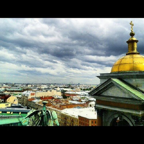 Magic EyeEm Best Shots Colors Of Life The EyeEm Collection Eyeem Market EyeEm Colour Of Life EyeEmBestPics Isaac's Cathedral Check It Out Saint-Petersburg Travel Photography Sky And Clouds Roofs Roofs Of Saint-petersburg