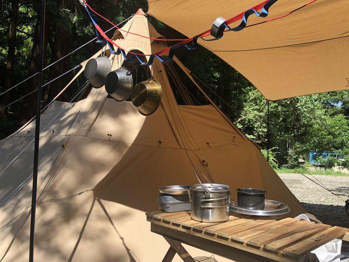 アルミとチタン キャンプ飯