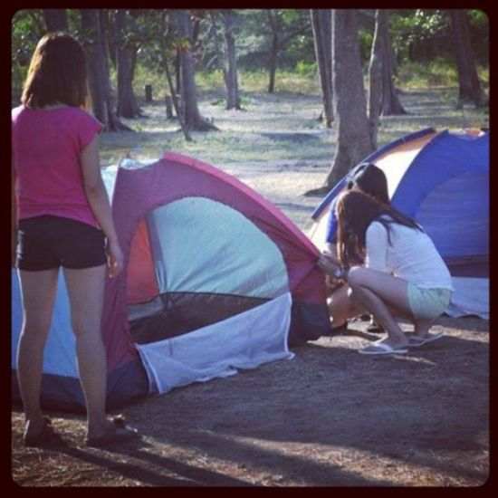 Camping Anawangin