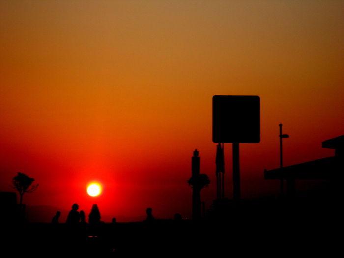 ##RED #orangecake #people #Shadow #sun #sunset #Turkey/İzmir-ALSANCAK #yellow