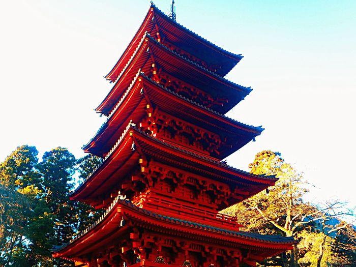 Japan Minobu Mountain Shrine Tower