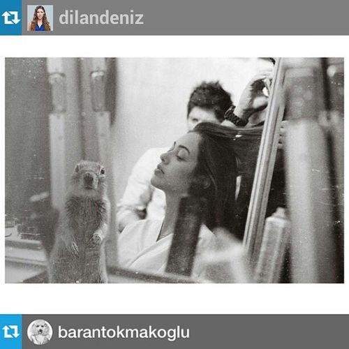 Yanındaki ne öyle ? Repost from @dilandeniz with @repostapp — Lil buddy!! Repost from @barantokmakoglu with @repostapp --- @dilandeniz Ithinknothing Dilandeniz cicek ozlemsuer backstage ankarafashionweek hair vassagohairdesigners makeup narscosmeticks organization yasinsoy1 visitor squirrel