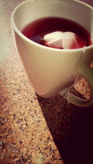 raspberry tea <3 Herbal Tea Raspberry Tea Morning Light Early Mornings