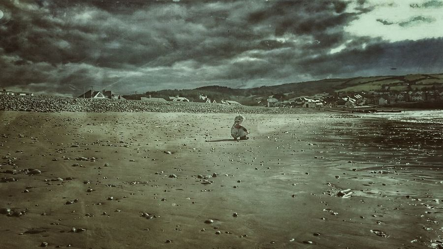 Q Quiet Moments Borth, Wales Borth Beach Childspirit Alone Time Sitting Pretty On A Stone Beach Life Radicalyouth Go Away.... Chilling Children Photography Child Photography Beachbum GrungeStyle Family Love Grand Childen Love My Family ❤ Tranquility Adapted To The City