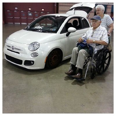 My favorite part of Importexpo was this couple. No age group in the automotive life of ours. Nycalive Oldschool Loveforcars  sentimental atlanticcity oldcouple modlife carlife nevertoold theygonlearntoday theolderthebetter ineedthisinmylife