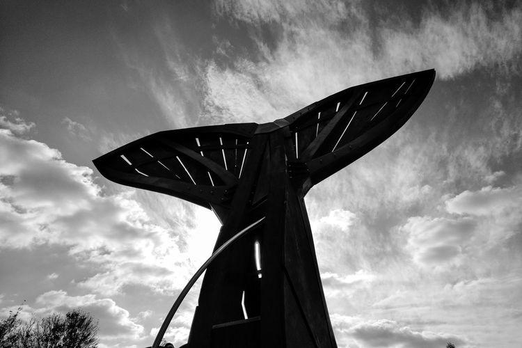 monochrome photography Eyeemphotography Blackberryphoto Wal Fisch Powerful Nature Berlin City Mystical Astronomy Star - Space Sky Architecture Cloud - Sky Built Structure Modern Art Statue Sculpture