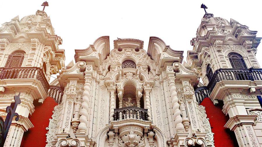 Church Iglesia Peru Lima Taking Photos Confirmacion Relaxing Old Church