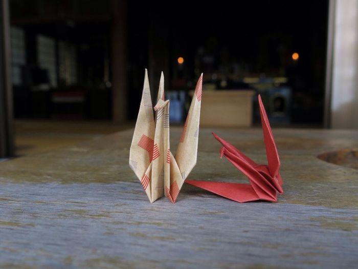 折り鶴 Origami Japan Temple