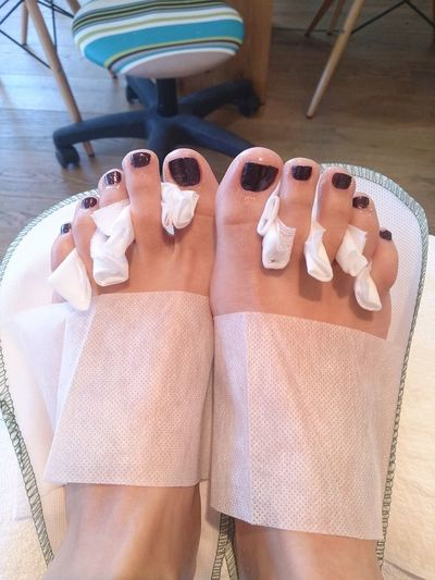 Feet Colors Fun! Small Pleasurs