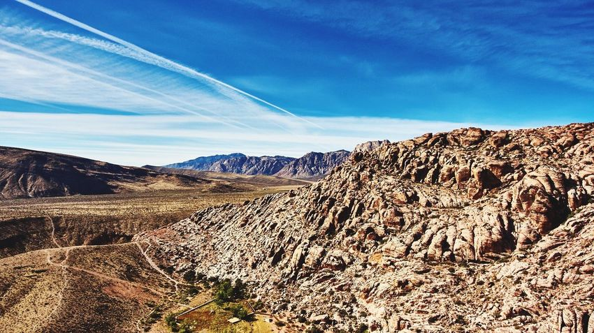 Drone above Nevada Sky Landscape Nature Beauty In Nature Tranquility Day Drone  Dronephotography Mountain Outdoors Clay Hayner Photo Travel Photography Photo Of The Day Travelphotography Travel Destinations Mountain Range Nevada Red Rock Canyon Tranquil Scene ClayHaynerPhoto Travel Photography No People Scenics Nature