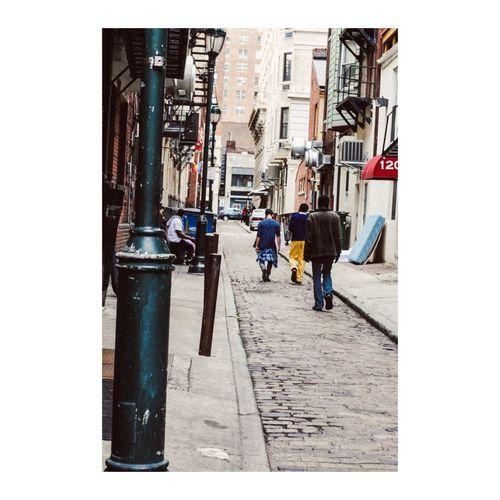 We walk alleyways like a catwalk Walking Around People Watching Vscocam Philadelphia