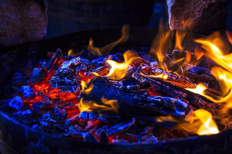 Heat - Temperature Burning Fire Flame Fire - Natural Phenomenon Close-up Glowing No People Food And Drink Food Nature Coal Indoors  Night Kitchen Utensil Household Equipment Preparation  High Angle View Still Life Fireplace My Best Photo International Women's Day 2019