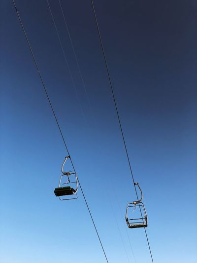 Ski lifts in