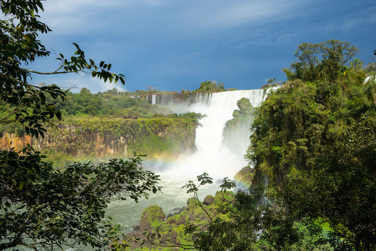 Iguazu waterfall