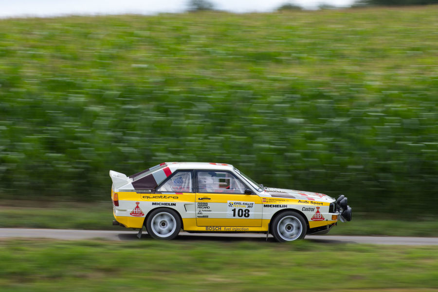 Audi Audi Quattro Eifel-rallye-festival Moving Racing Rallye Car Car Land Vehicle Motion Outdoors Race Racing Car Rallye Transportation