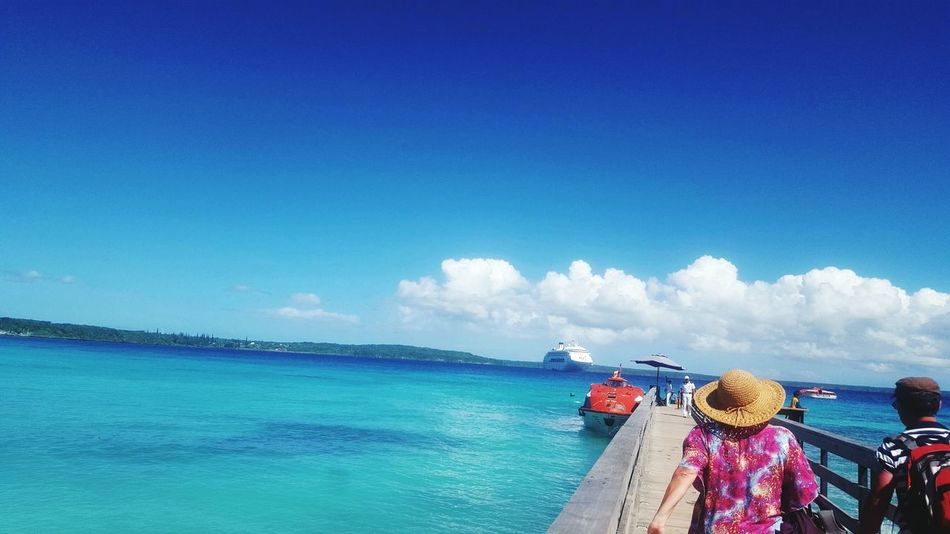 Lifu, New Caledonia Taking Photos Check This Out Beautiful Blue Sea Beautiful Blue Sky☁