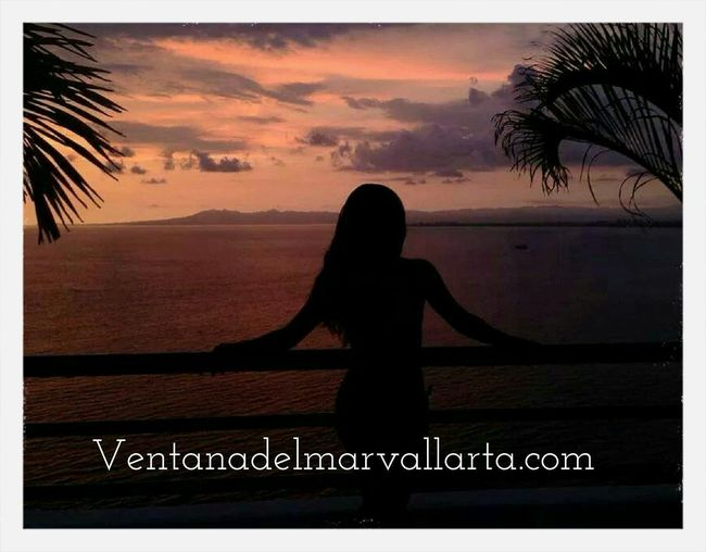 Sea #pacific Ocean #puerto Vallarta Enjoying Life Sun Set overlooking the ocean