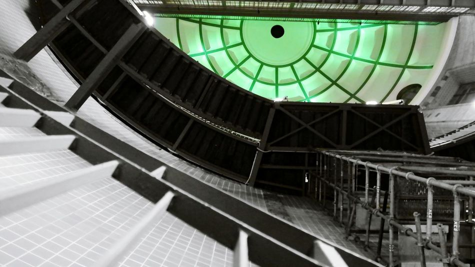 Green Eyes Elbtunnel Hamburg Creative Photography Creative Light And Shadow Windows Getting Creative Colorsplash Abstractarchitecture Point Of View Capture The Moment Pattern, Texture, Shape And Form My Best Photo 2015 Better Look Twice