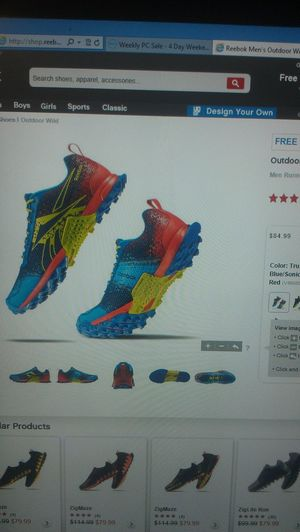 getting these Running Track&field Trackislaw Rebok