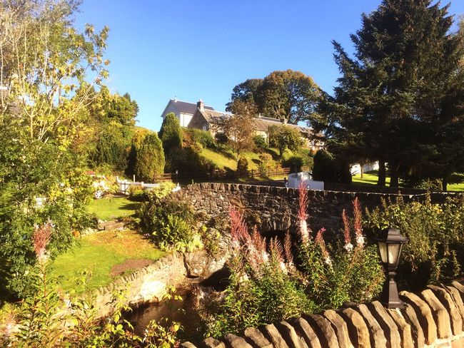 Scotland Pitlochry Edradour Nature River Distillery Summer Summertime