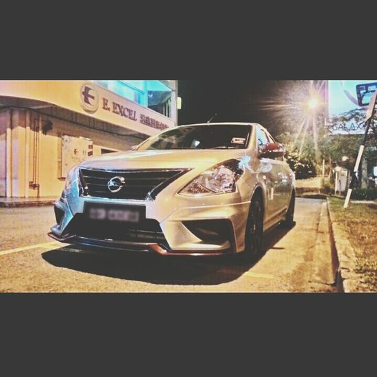 Date with the beauty a while... =) Nissan Almera Nismo  Fastfamily TeamPW Roww
