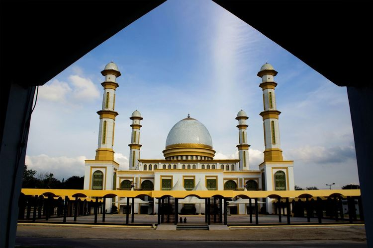 mosque in the