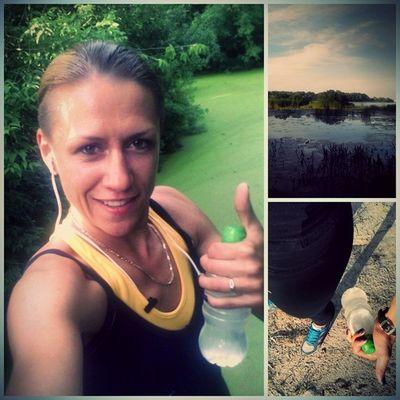 Отличная часовая пробежка... бег спорт Природа Лес корчеватое пробежка жуковостров