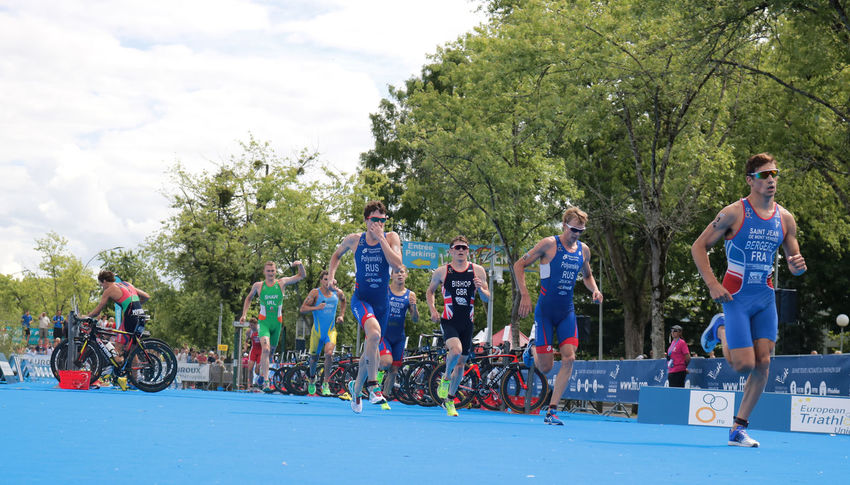 Adults Only Athlete Chateauroux Competition Day ETU S France Group Motion Outdoors Run Running Sports Race Track And Field Athlete Transitional Moments Triathletes TRIATHLON