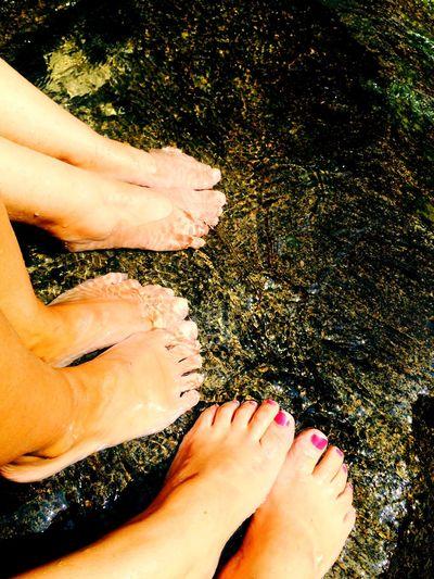 Barefoot sudan gelen serinlik Relaxing