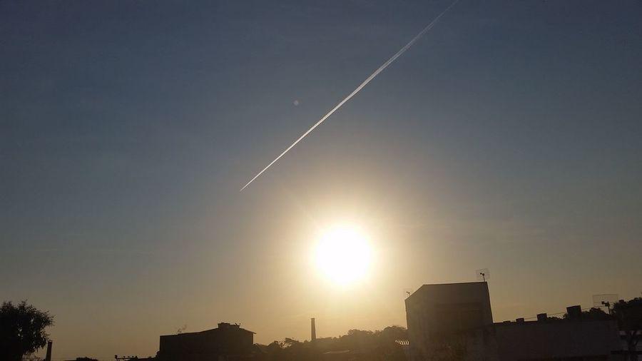 Contrail Sky