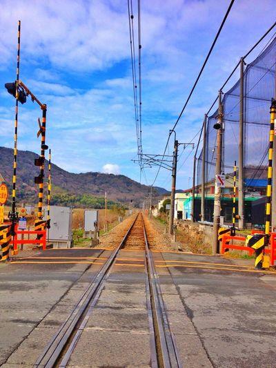 Public Transportation Railroad Crossing