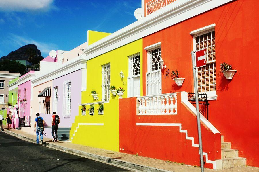 Bo-kaap Southafrica Colourful Eyeemcolours Malay Quarter