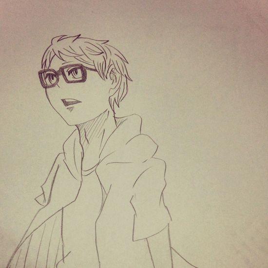 ツッキーの幼少期。 Anime Comic Hq Illust 漫画 ハイキュー!! 絵
