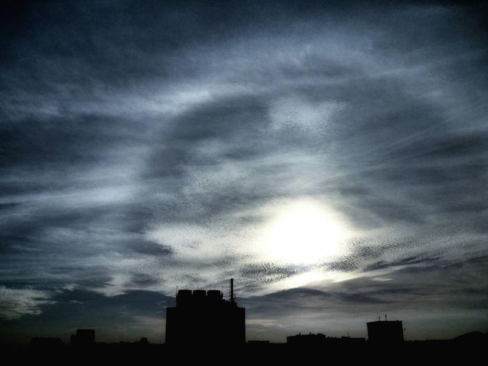 Clouds And Sky Sun Dog Sky Sunset Taking Photos Hello World Relaxing Enjoying Life EyeEm Nature Lover