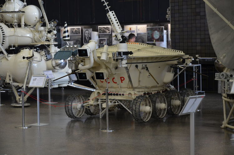 Spaceship museum, Kaluga, Russia ЯПРФ Aerospace Industry Kaluga Lunokhod Moonwalker Museum Russia Ussr Exhibition Machine Part Robotic Arm Robot Machine
