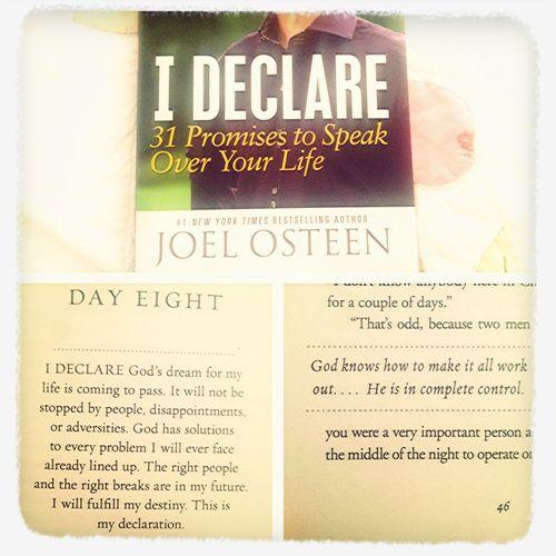 I DECLARE 31 Promises To Speak Over Your Life. Amazing Book! #DailyInspiration :)