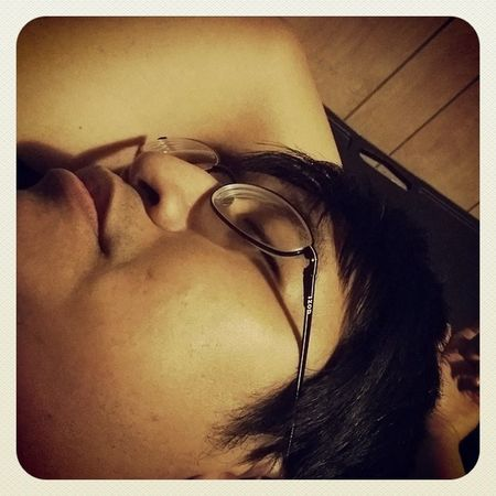 Teehee I caught a pic of my lovey dozing! Sleepyhead Lovey