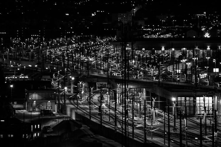 Black and White in VIenna City Street Cityscape Architecture Black Blackandwhite Photography Citylights Eyem Best Shots Night Outdoors Perspectives On Nature