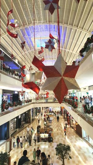 Large Group Of People People Indoors  Architecture High Angle View Chrismast Stars & Dreams