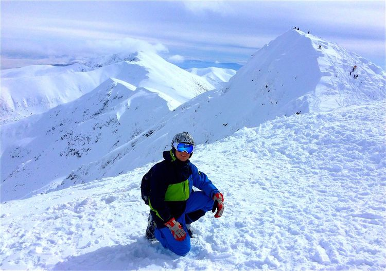 Tatry Slovakia Mountains Chopok Sunny Day Freeride Freeskiing Beauty Nature Nature_collection Nature Photography Trip Love Skiing Nofilter
