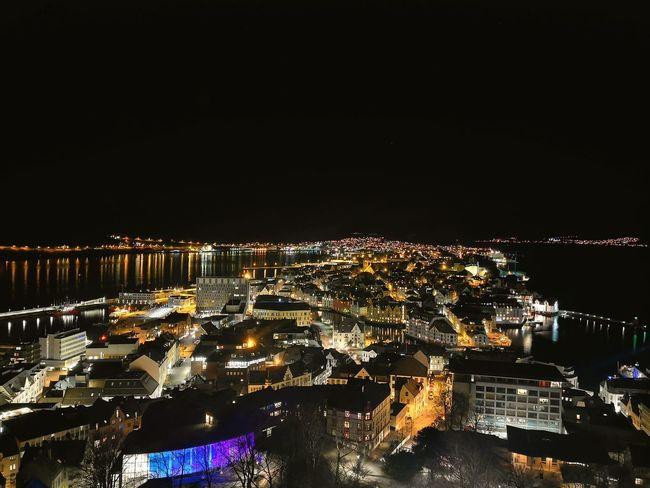 Cityscape Illuminated Urban Skyline Arts Culture And Entertainment Awe Sky