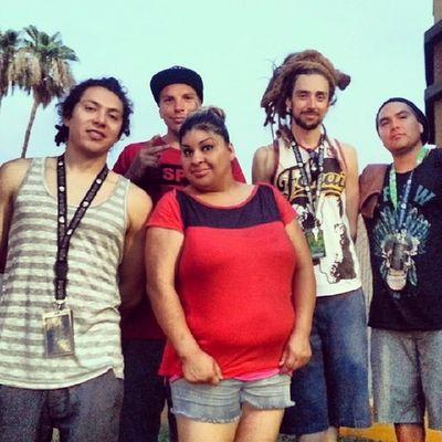 Sister with @tribalseeds in Mesa, AZ. Tribalseeds Calireggae Arizona Summer 619 sandiego reggae goodtimes mesa