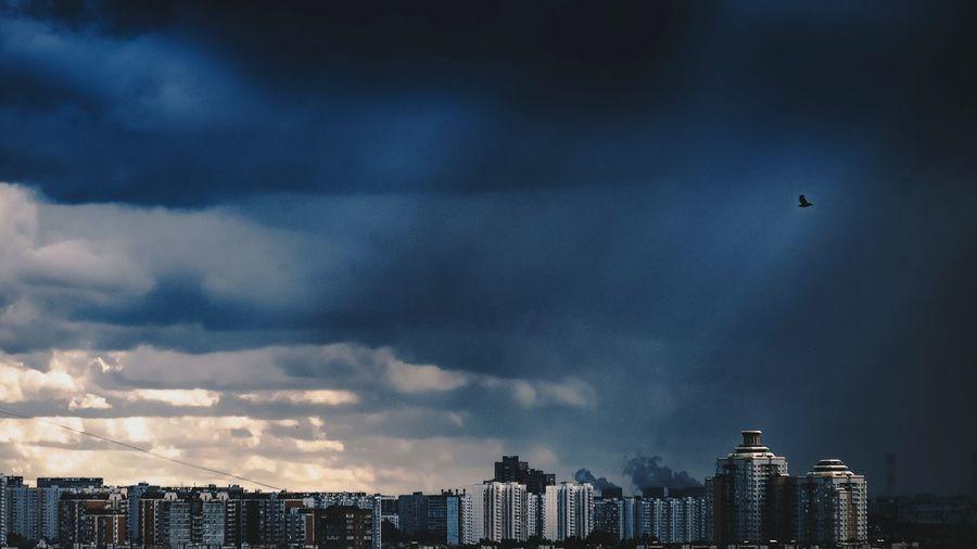 Epicsky Clouds And Sky Storm Evning Sky Rainy Days View Colors Panoramic Mycity